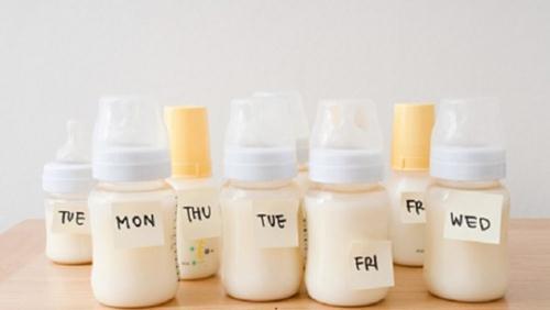 Bảo quản sữa mẹ đúng cách