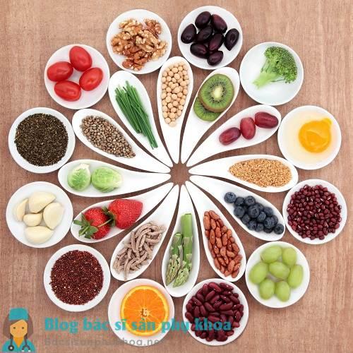 Chế độ ăn uống lành mạnh cho người bị u nang buồng trứng