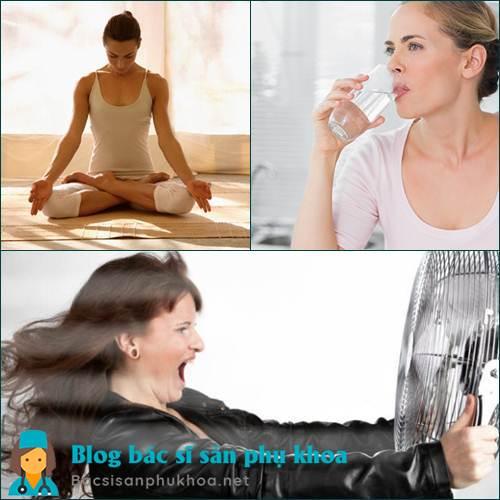 Điều trị bốc hỏa ở phụ nữ hiệu quả tại nhà