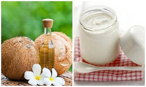 Sữa chua và dầu dừa điều trị nấm candida