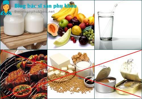 Những thực phẩm người bị u xơ tuyến vú nên và không nên ăn
