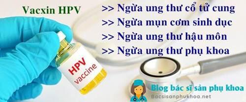 Phòng tránh ung thư cổ tử cung bằng vacxin HPV